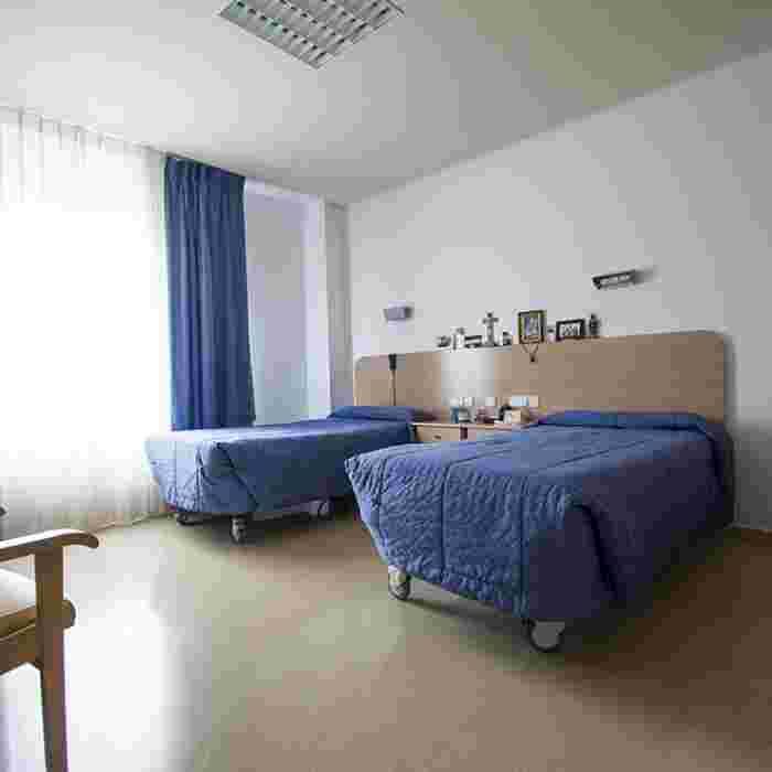 Habitaciones de la Residencia